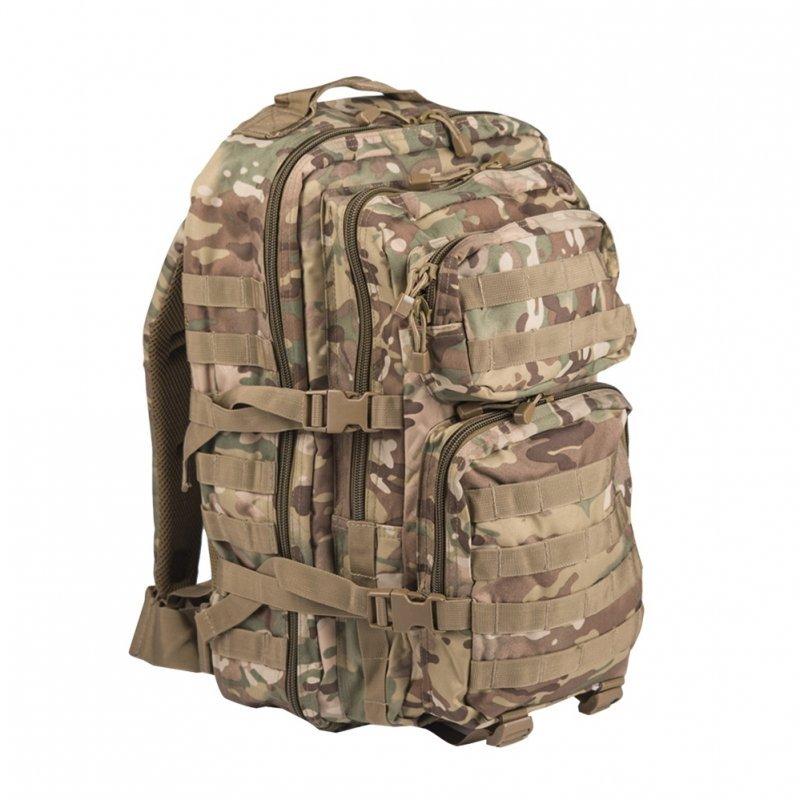 MIL-TEC Σακίδιο Πλάτης 36L Καμουφλάζ Multitarn Backpack US Assault L 14002249
