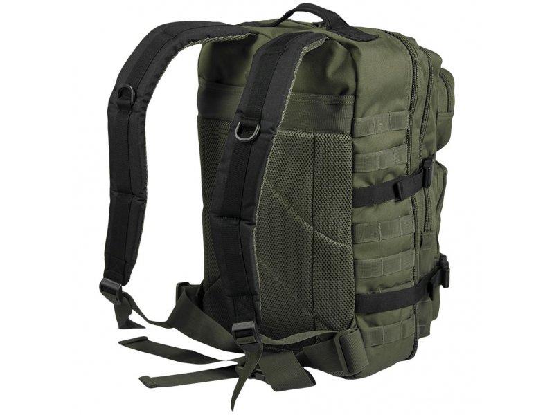 MIL-TEC Σακίδιο Πλάτης Χακί/Μαύρο 36L Ranger Green/Black BackPack US Assault L 14002301