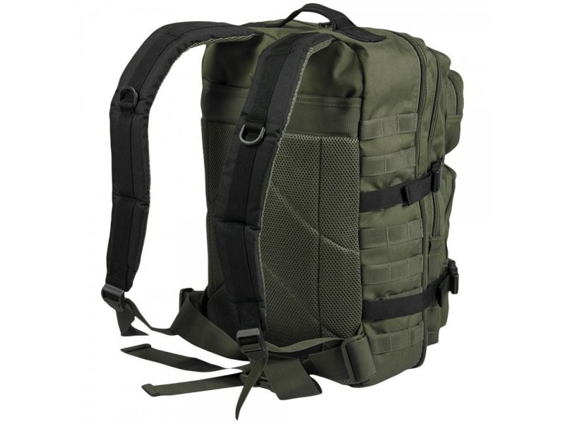 MIL-TEC Σακίδιο Πλάτης Χακί/Μαύρο 20L Ranger Green/Black BackPack US Assault Small  14002101