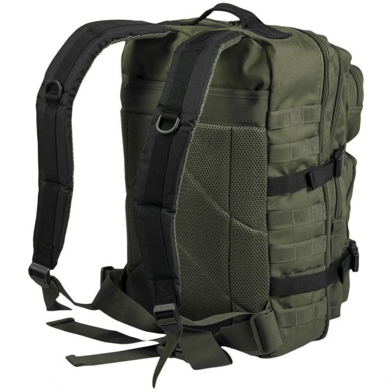MIL-TEC Σακίδιο Πλάτης Χακί/Μαύρο 20L Ranger Green/Black BackPack US Assault Small  14002101