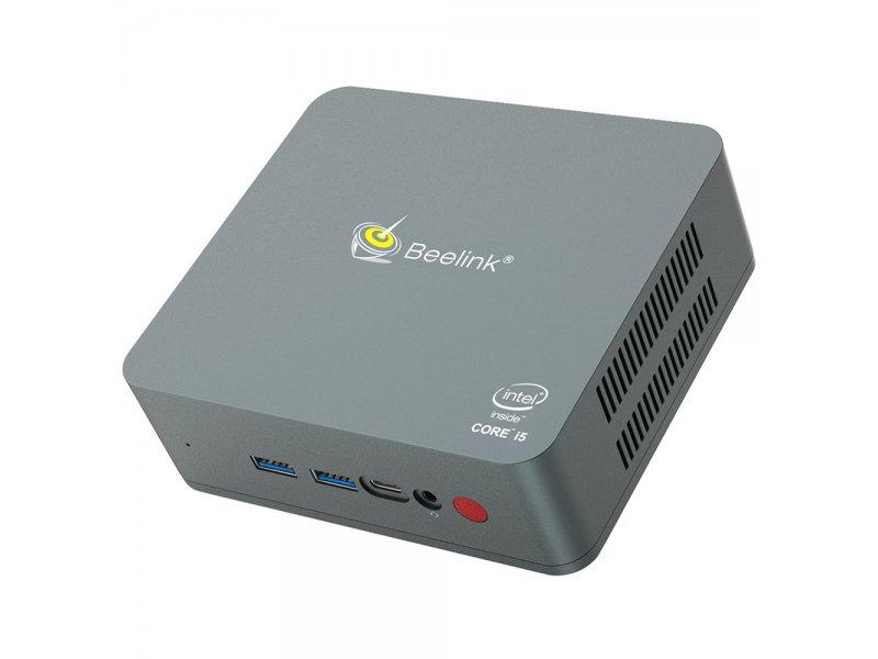 Beelink U57 Mini Pc Intel Core I5-5257U 8GB/256GB SSD Windoew 10 Intel Iris Graphics 6100