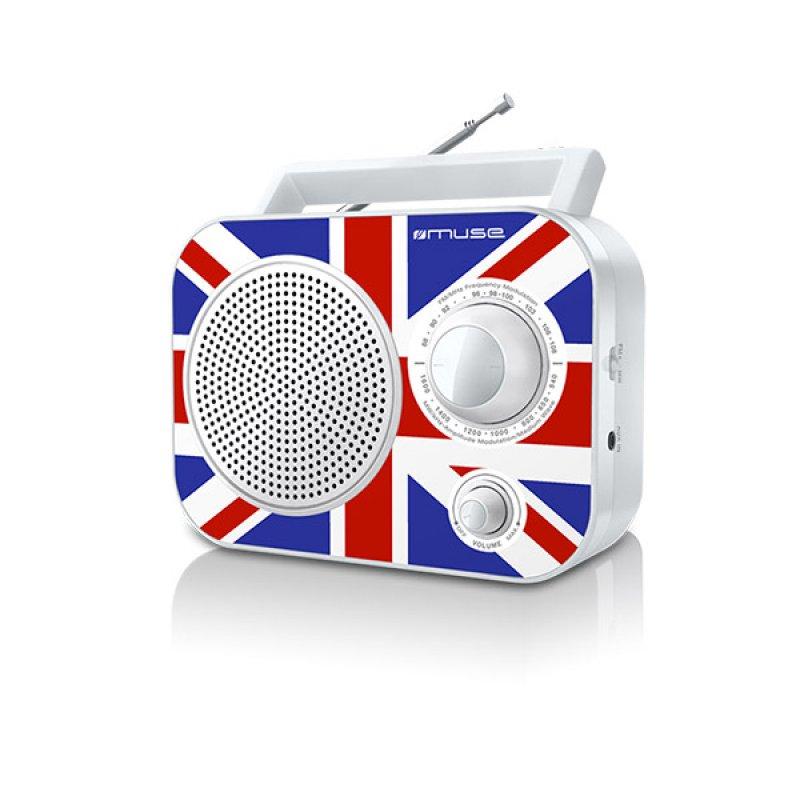 Αναλογικό ραδιόφωνο Muse M-60UK FM-AM ρεύματος/μπαταρίας με υποδοχή Aux in