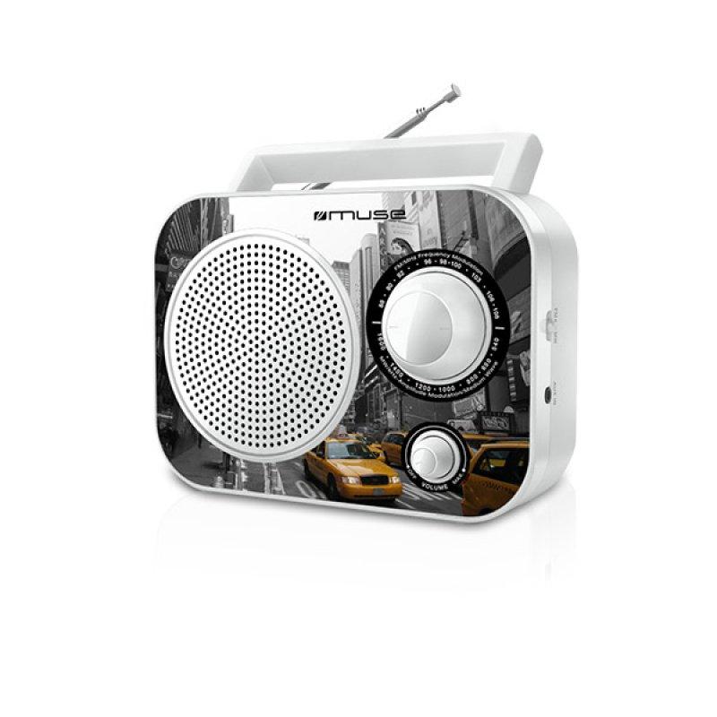Αναλογικό ραδιόφωνο Muse M-60NY FM-AM ρεύματος/μπαταρίας με υποδοχή Aux in