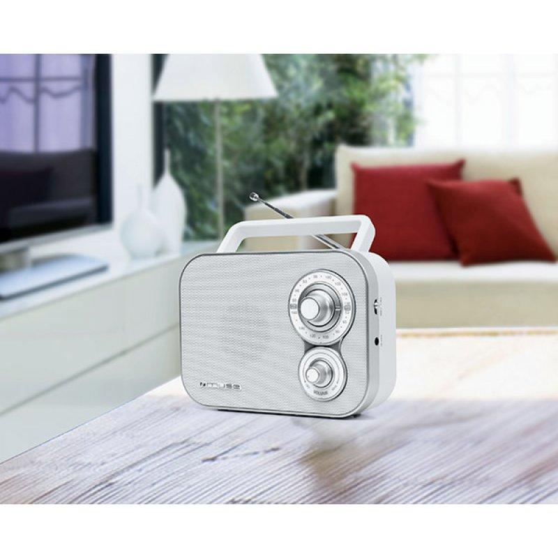 Αναλογικό ραδιόφωνο Muse M-051RW FM-AM ρεύματος/μπαταρίας με υποδοχή Aux in