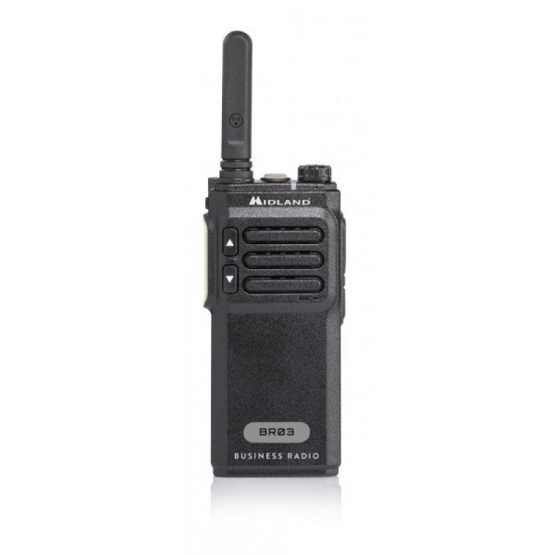 Midland  BR03 Φορητός ασύρματος πομποδέκτης PMR446 16 Κανάλια
