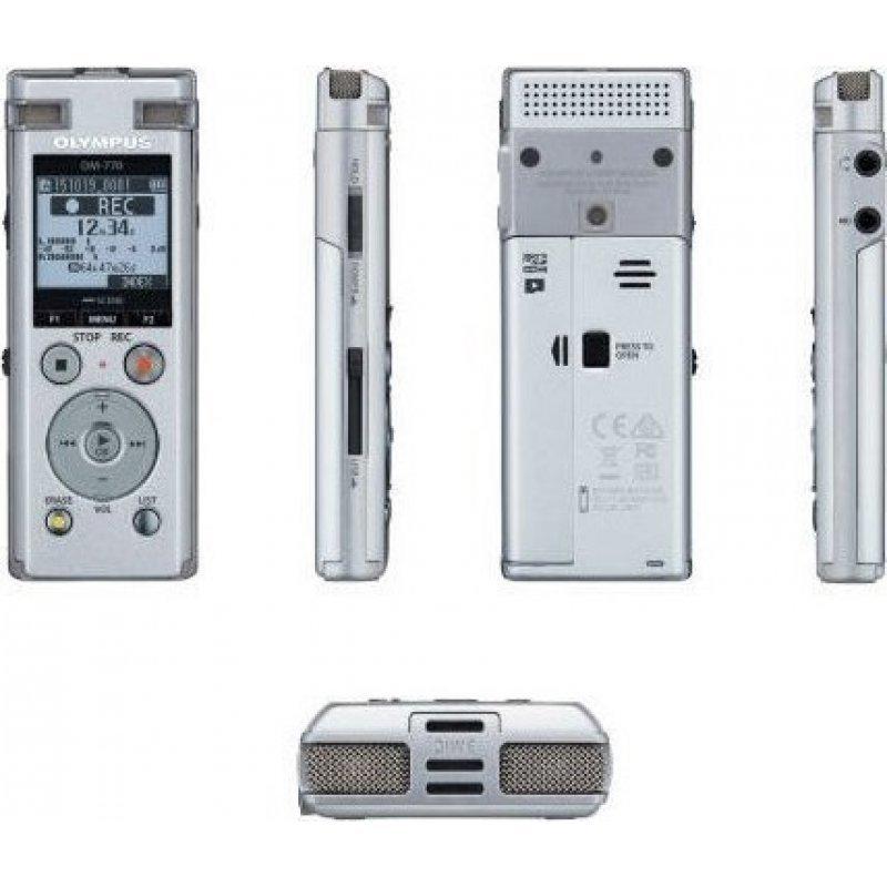 OLYMPUS DM-770 Ψηφιακό stereo καταγραφικό με εσωτερική μνήμη 8 GB