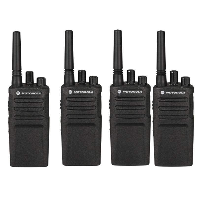 4 Τεμάχια Motorola Business XT-420 Ασύρματος επαγγελματικός πομποδέκτης