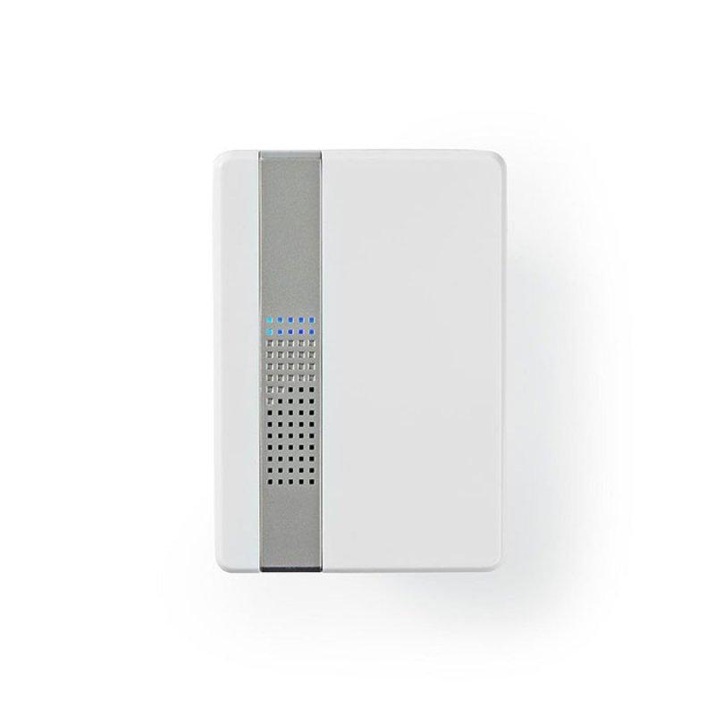 Nedis DOORB223CWT Ασύρματο Κουδούνι Με Led Ένδειξη Και Δυνατότητα Αυξομείωσης Της Έντασης Του Κουδουνιού.80 DB
