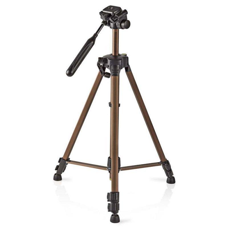 Τρίποδας αλουμινίνου για φωτογραφικές μηχανές και βιντεοκάμερες για σταθερές και πεντακάθερες φωτογραφίες και βίντεο