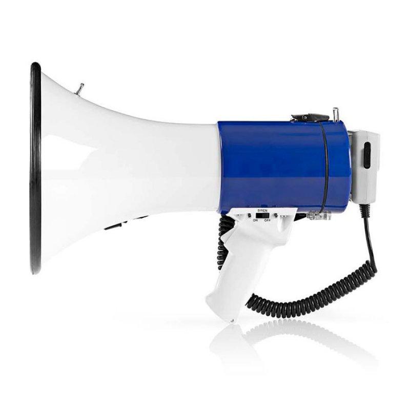 Τηλεβόας με αποσπώμενο μικρόφωνο 25W NEDIS MEPH200WT