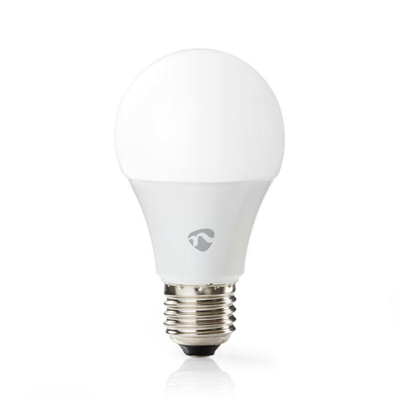 Nedis WIFILC11WTE27 WiFi Έξυπνη Λάμπα RGB Led,E27, A60, 6W, 470 Lm