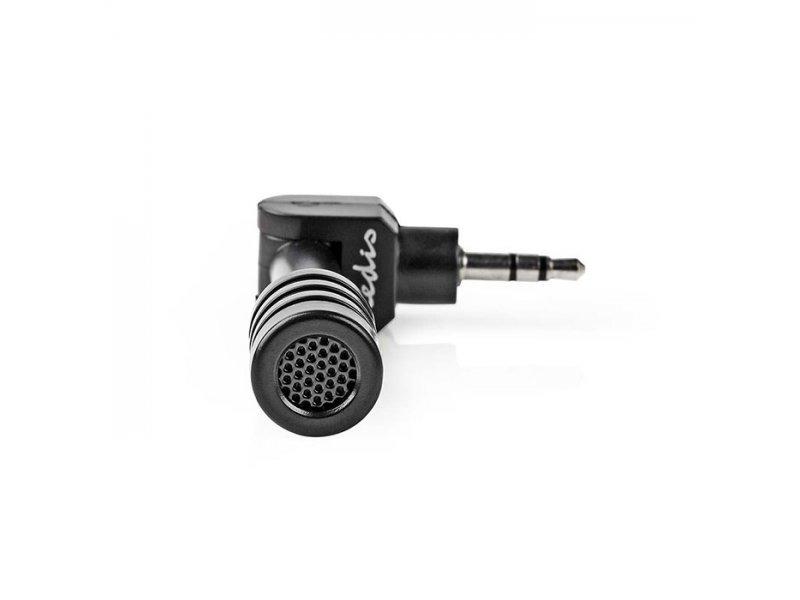 Nedis Micmj100BK Mini Plug-In Μικρόφωνο