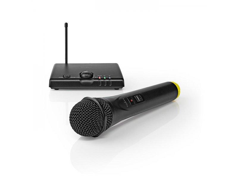Nedis MPWL500BK Σέτ Ασύρματου Μικροφώνου Με Δέκτη