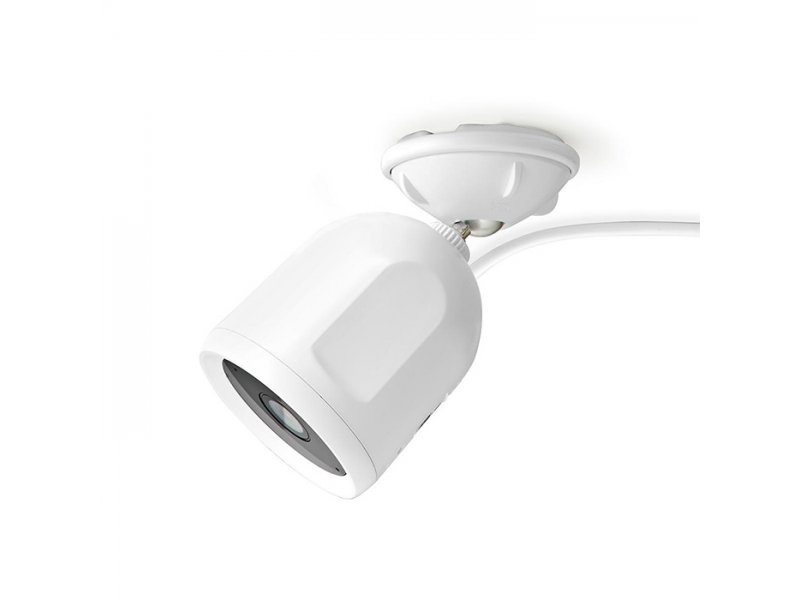 Nedis WIFICO50CWT Αδιάβροχη WiFi Smart IP Κάμερα Full HD 1080P Για Εξωτερικούς Χώρους