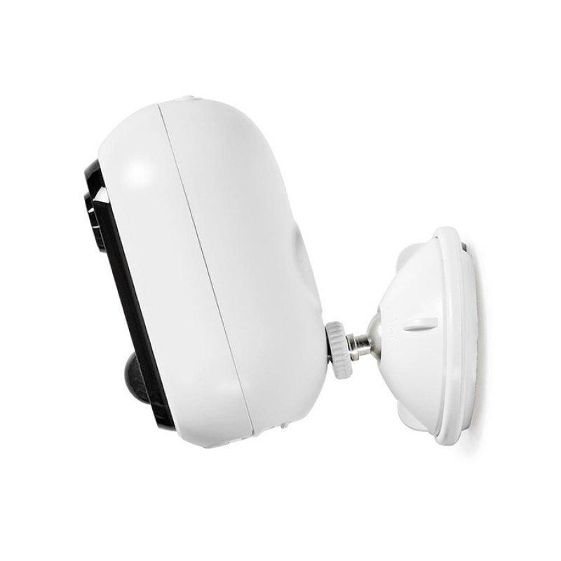 Nedis WIFICBO20WT WiFi Επαναφορτιζόμενη IP Κάμερα Full HD 1080p Για Εξωτερικούς Χώρους