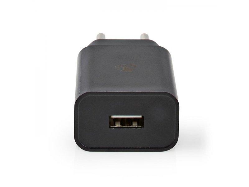 Nedis WCHAL242ABK Universal Φορτιστής Usb 2.4 A, 8-Pin Για Smartphone