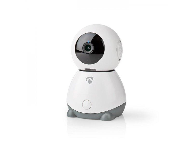 Nedis WIFICI30CGY WiFi IP camera Full HD 1080p, Με Λειτουργία Pan tilt & Αισθητήρα Θερμοκρασίας, Υγρασίας