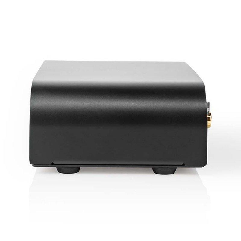 Nedis AAMP2411BK Stereo Προενισχυτής Με Είσοδο AUX / Phono, 2x RCA θηλ.