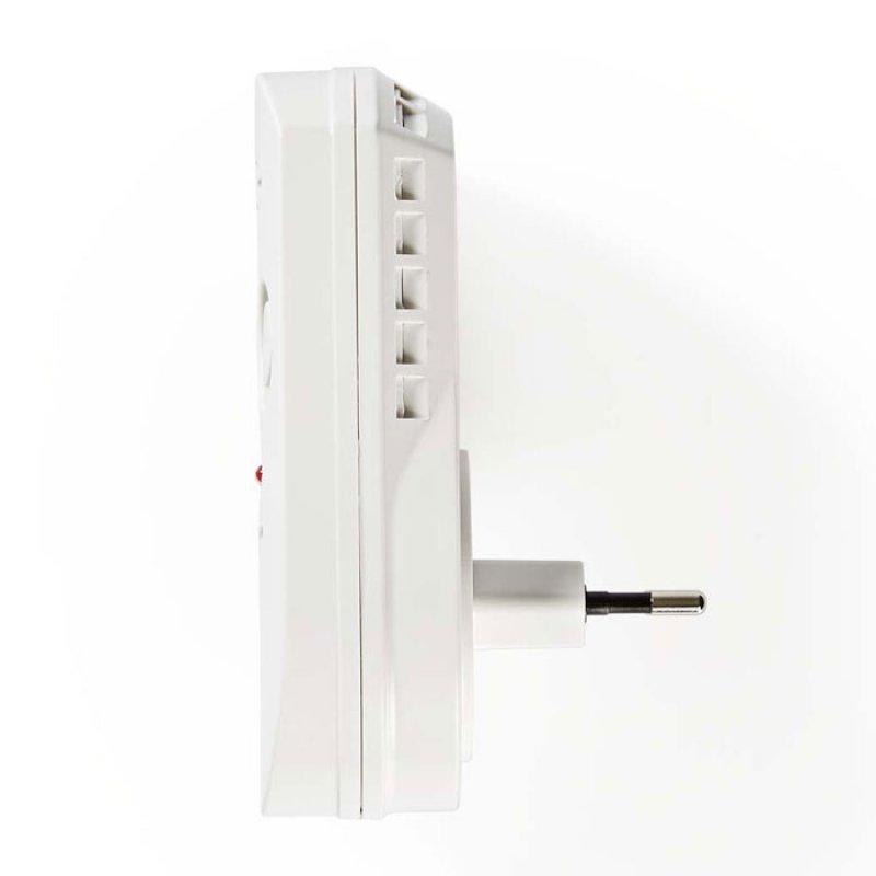 Ανιχνευτής αερίου με οπτικό και ηχητικό συναγερμό 85 dB.