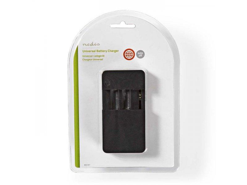 Nedis  Universal φορτιστής για 2 μπαταρίες AA ή AAA (Ni-MH / Ni-Cd) και φορτιστής USB
