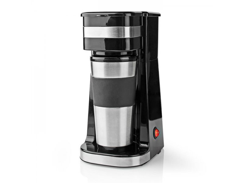 Καφετιέρα Φίλτρου Μονή Με Κούπα-Θερμός 0.4L