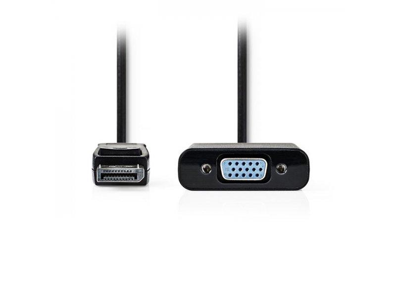 Καλώδιο Εικόνας DisplayPort αρσ. - VGA θηλ., 0,20 m.