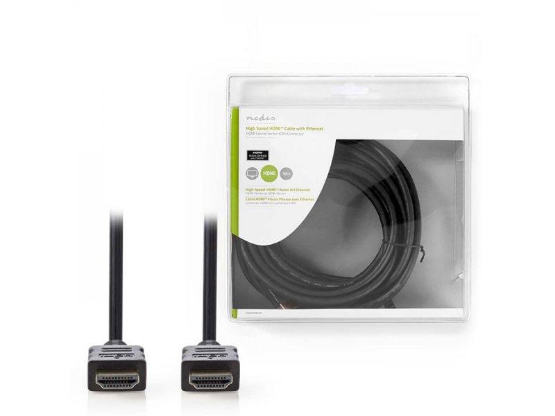 Καλώδιο HDMI αρσ. - HDMI Αρσ., Σε Συσκευασία Blister, 10m.