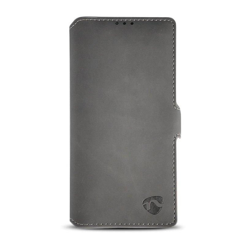 Θήκη Soft Wallet Book για το Samsung Galaxy Note 10 Plus, σε γκρί χρώμα.