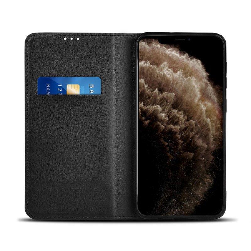 Θήκη Wallet Book για το Apple iPhone 11 Pro Max, σε μαύρο χρώμα.