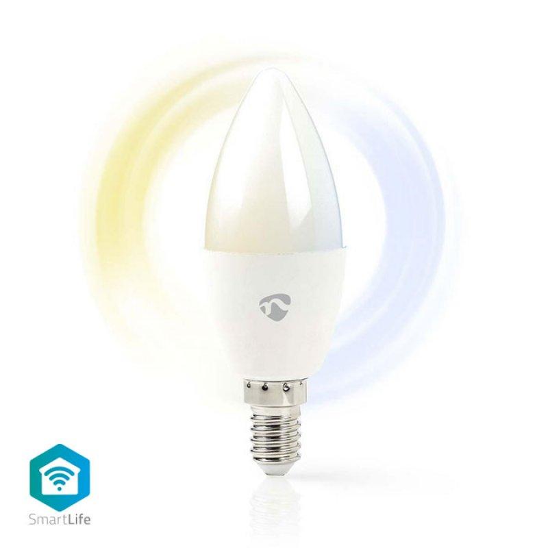 Wi-Fi έξυπνη λάμπα LED,Ε14  4.5W, 350lm.