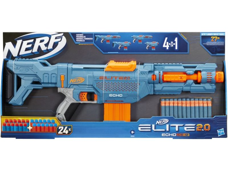 Nerf Elite 2.0 Echo CS 10 Εκτοξευτής Blaster Nerf Elite (E 9533)