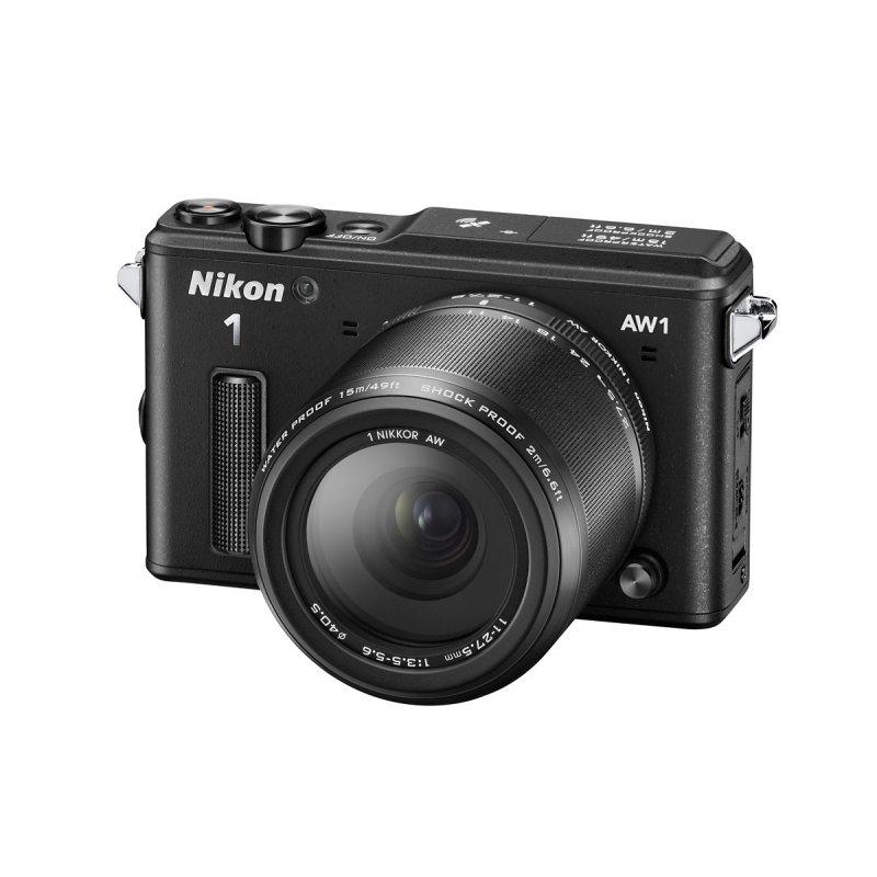 Nikon1 AW1 υποβρύχια ψηφιακή φωτογραφική μηχανή με Lens NIKKOR AW 11-27,5 mm