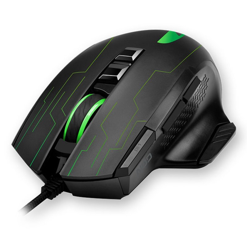 141-0157 Nod Ενσύρματο Rgb Gaming Ποντίκι Με Λογισμικό Για Custom SetUp, 3200Dpi