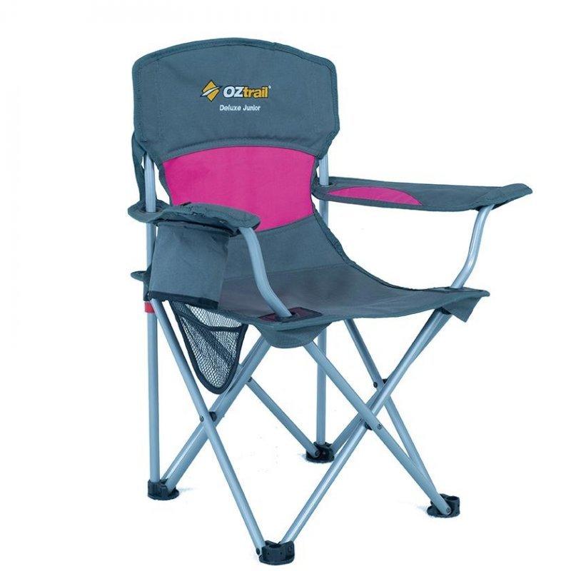 Ozt-395 Παιδική Καρέκλα Πτυσσόμενη Oztrail Deluxe Junior Ρόζ