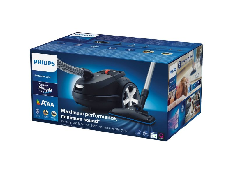 Philips FC 8785/09 Αθόρυβη Ηλεκτρική Σκούπα Με σακούλα Performer Silent 650W