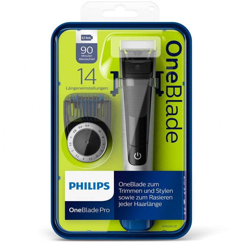 Philips QP6520/20 Trimmer-Ξυριστική μηχανή Επαναφορτιζόμενη/Πλενόμενη