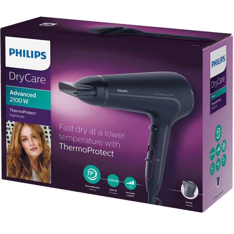Philips HP 8230/00 Dry Care Advanced Σεσουάρ Μαλλιών Με Σύστημα Thermo Protect
