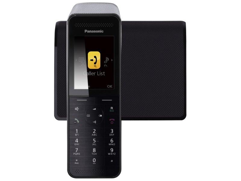 Panasonic KX-PRW110GRW Prenium ECO μαύρο Ασύρματο τηλέφωνο με έγχρωμη οθόνη και σύνδεση Wi-Fi