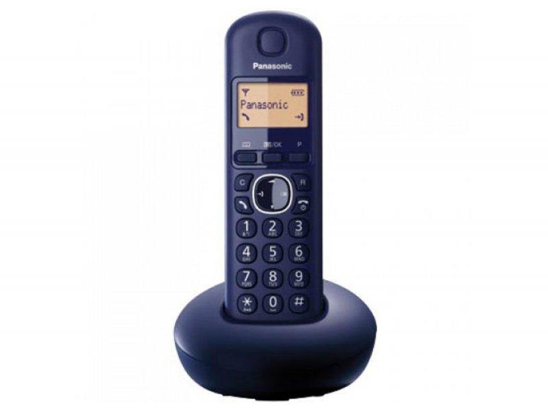 Panasonic KX-TGB210GRC Dark Blue Ασύρματο τηλεφωνο με μεγάλη φωτιζόμενη οθόνη