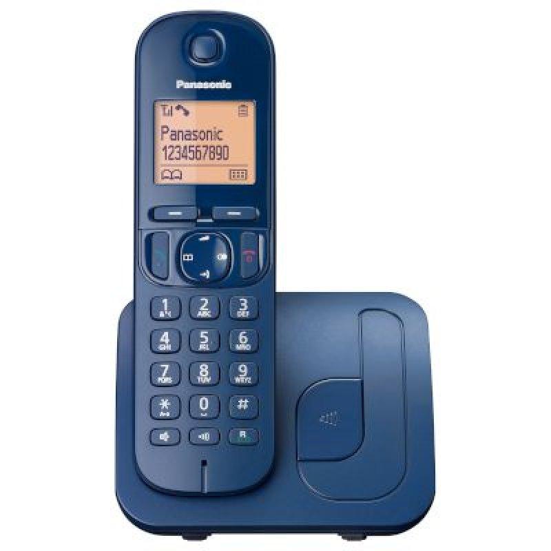 Panasonic KX-TGC210GRC Blue Ασύρματο τηλέφωνο με λειτουργία ECO φωτιζόμενη οθόνη και δυνατότητα φραγής κλήσεων