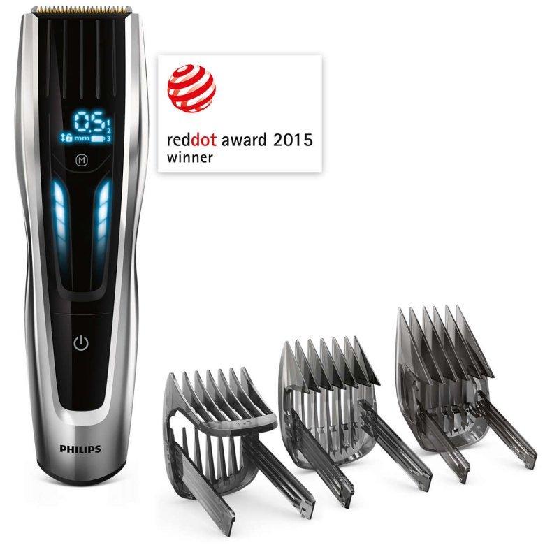 Κουρευτική μηχανή επαναφορτιζόμενη με 400 ρυθμίσεις μήκους από 0,5 έως 42 χιλ Philips Hairclipper Series 9000 HC9450/15