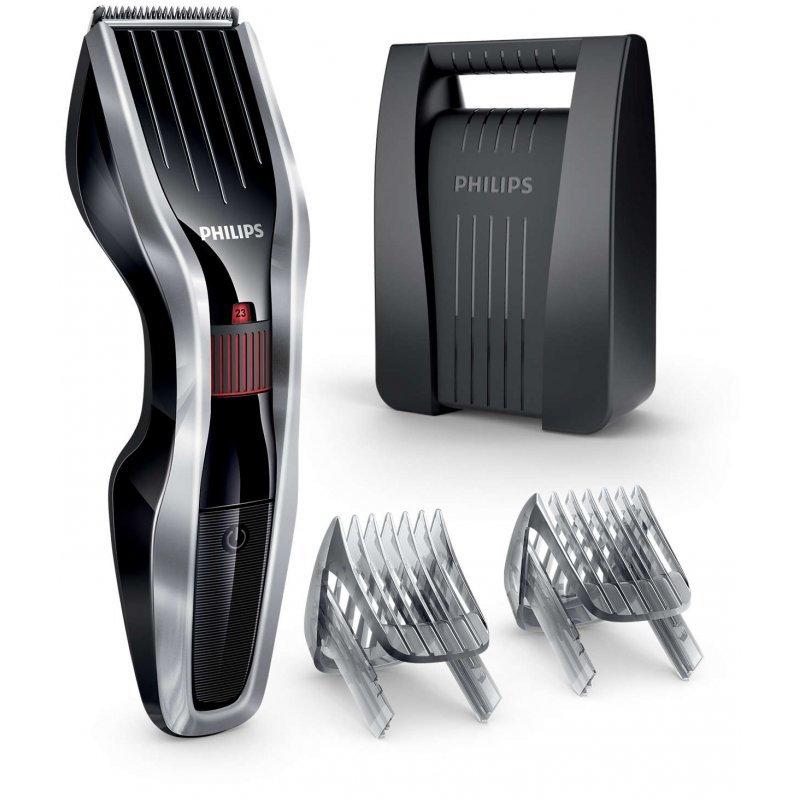 Κουρευτική μηχανή επαναφορτιζόμενη/ρεύματος με 24 ρυθμίσεις μήκους απ'ο 0,5-23 χιλ Philips Hairclipper Series 5000 HC5440/80