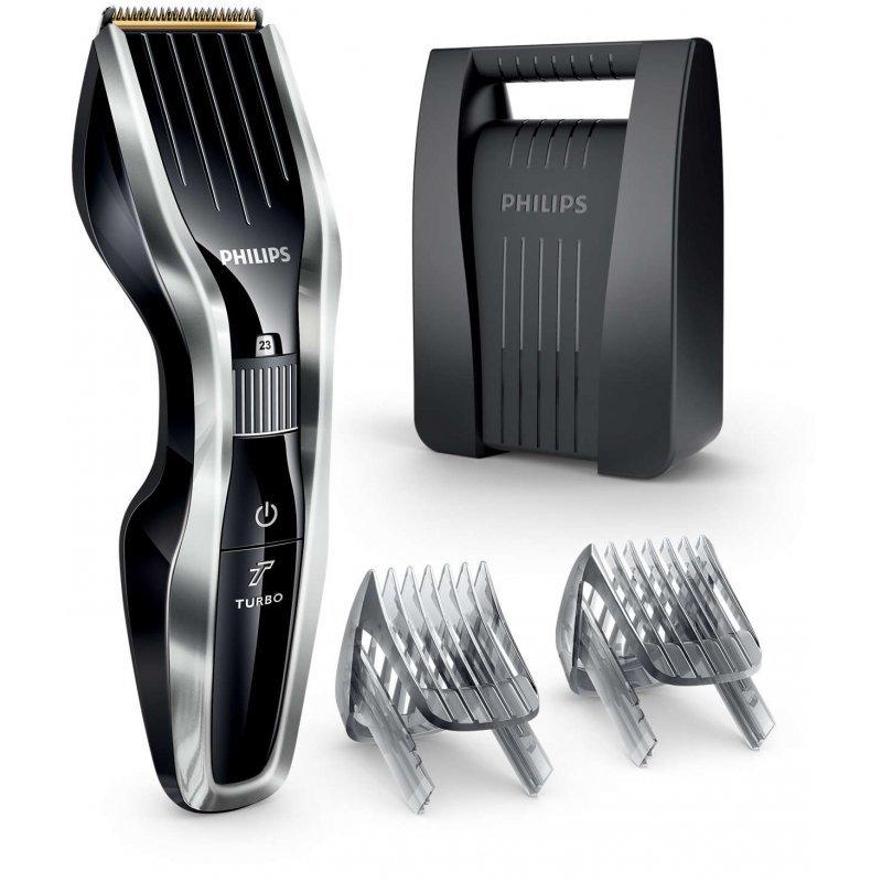 Κουρευτική μηχανή επαναφορτιζόμενη/ρεύματος με 24 ρυθμίσεις μήκους απο 0,5-23 χιλ Philips Hairclipper Series 5000 HC5450/80