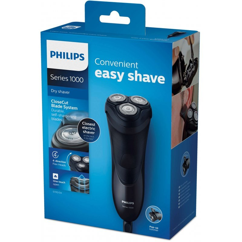 Ηλεκτρική ξυριστική μηχανή ρεύματος Philips S1110/04