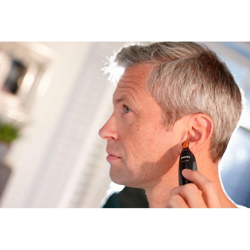 Philips NT3160/10 Trimmer πλενόμενο για Λεπτομέρειες και καθαρισμό Μύτης/Αυτιών/Φρύδια