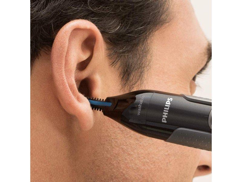 Philips NT3650/16 Trimmer Πλενόμενο Για Καθαρισμό Μύτης/Αυτιών/Φρυδιών