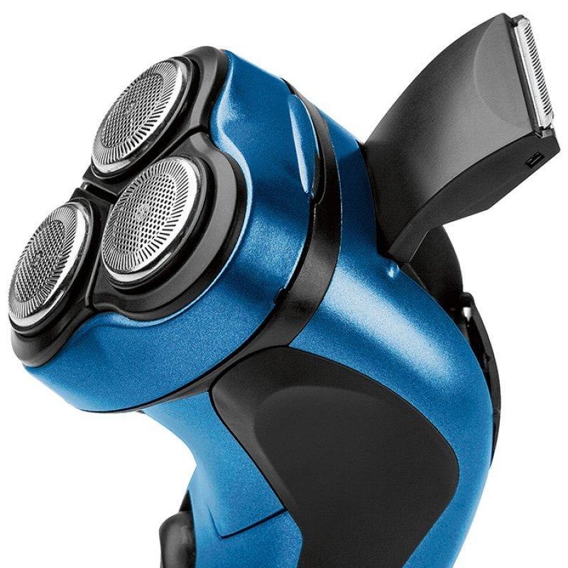 PC-HR 3053 Επαναφορτιζόμενη Ξυριστική Μηχανή Σε Μπλέ Χρώμα