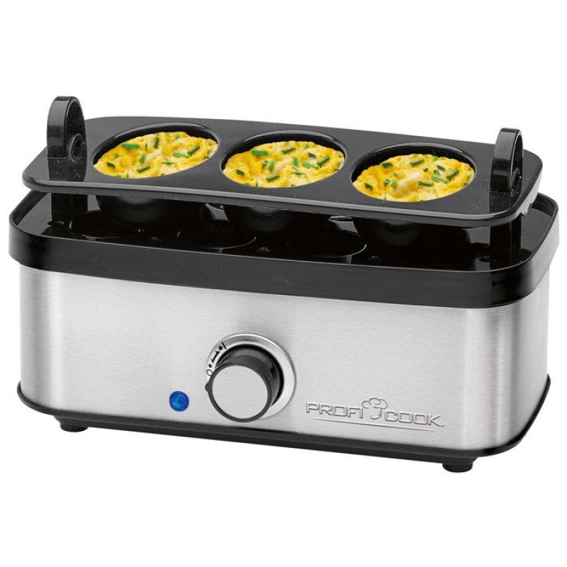 PC-EK 1139 Αοξείδωτος Βραστήρας Αυγών (1-8 Αυγά), 400W
