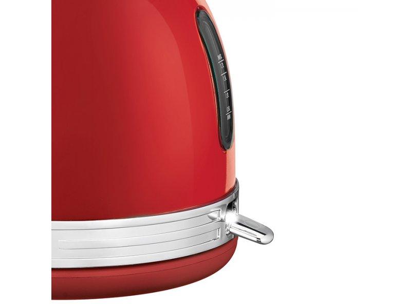 PC-WKS 1192 Vintage Ανοξείδωτος Βραστήρας 1.7L Σε Κόκκινο Χρώμα 2200W