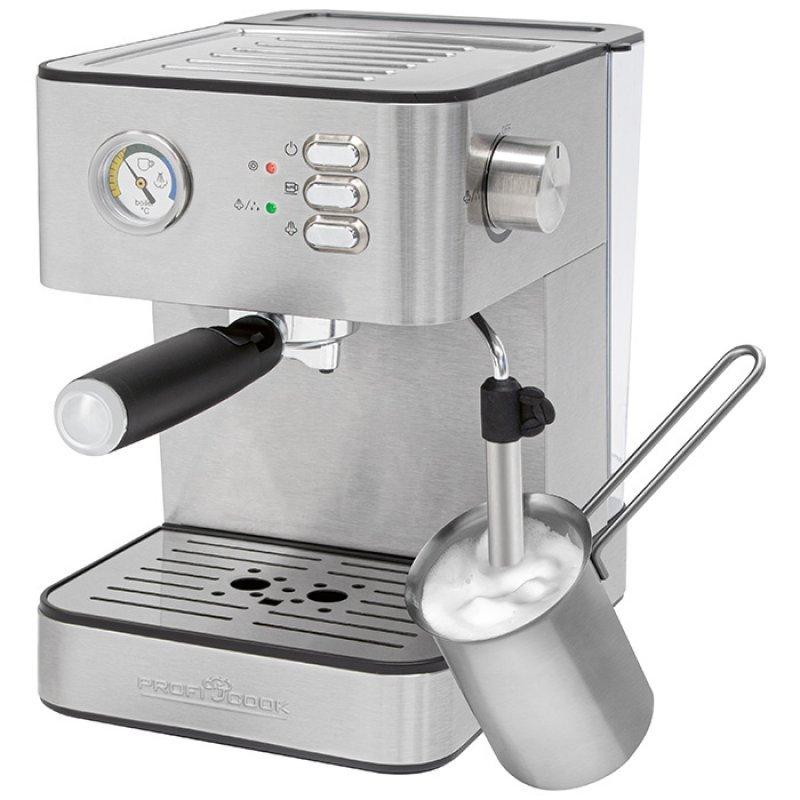 PC-ES 1209 Μηχανή Espresso-Capuccino 20Bar 850W